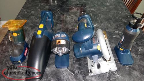Assorted RYOBI 18V Tools Only