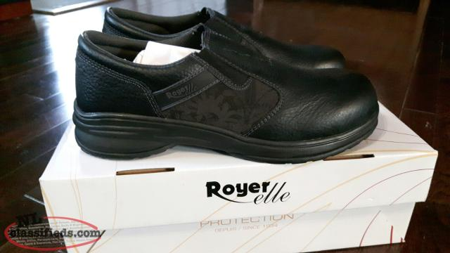 Royer Elle Size 10 Womens Composite Toe Work Shoes