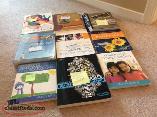 Books for Level 1 and Level 2 for Early Childhood Education
