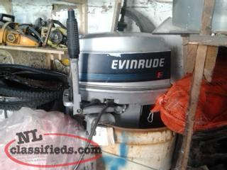 30hp evenrude outboard motor