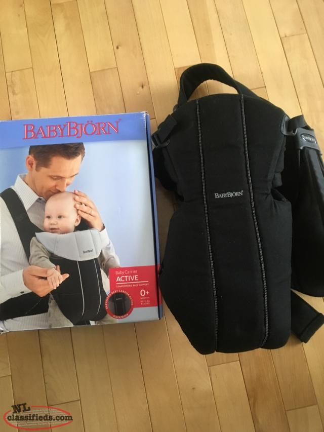 BABY Bjorn Active Carrier. Like New Condition