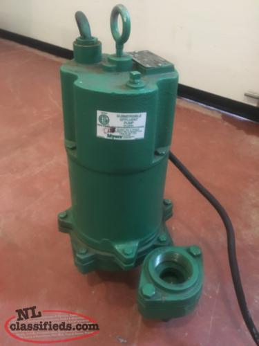 Myers 3-Phase Sump Pump