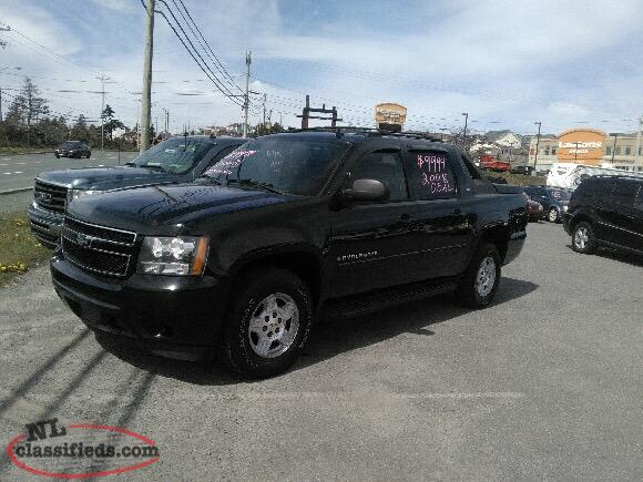 2008 Chevrolet Avalanche Lt 9995.00 Inspected Now $7995
