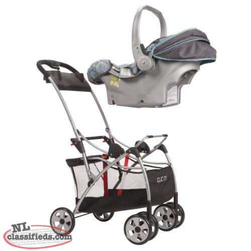 universal stroller infant car seat attaches to stroller car seat not include mount pearl. Black Bedroom Furniture Sets. Home Design Ideas