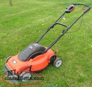 Wanted: Electric Lawn Mower Lawnmower