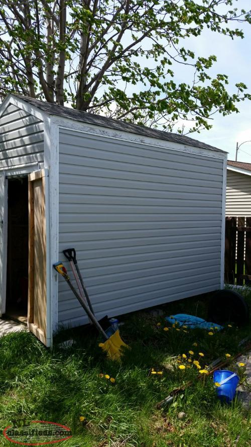 A well built shed for sale