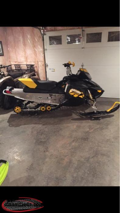 2009 mxz 800r sale or trade