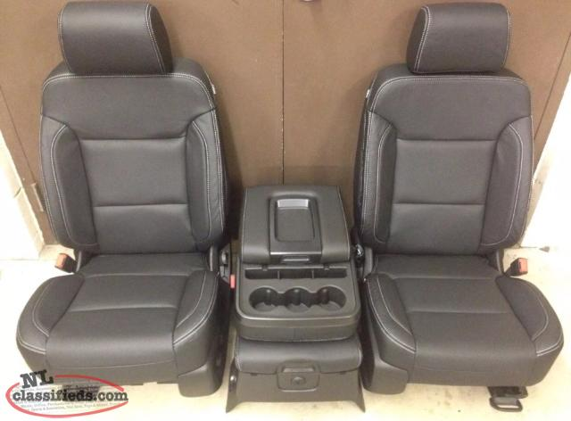 Gm Replacement Seat Covers : Gm pick up leather seat replacement covers