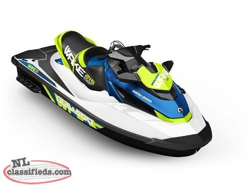 SWEET SUMMER DEAL - SAVE $1,560 on a BRAND NEW 2016 Sea-Doo WAKE™ Pro 215