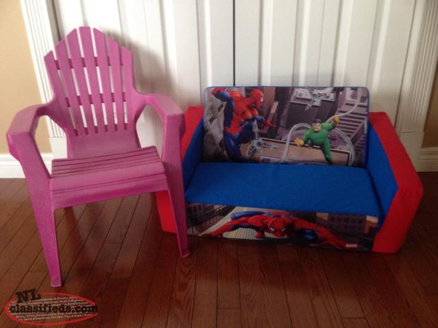 Chair & Mini Sofa Bed