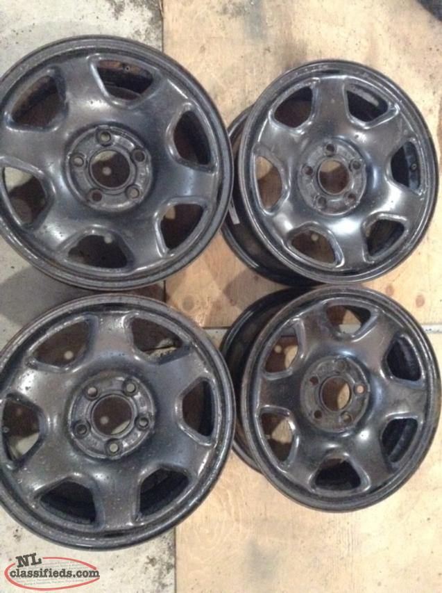 "16"" Steel Rims with 114mm bolt pattern"