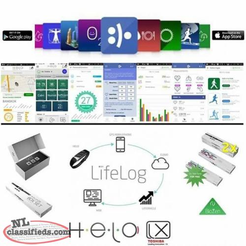 Helo LX Smartband, SOS Panic button,lifeguard and more