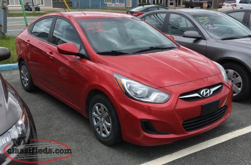 2012 Hyundai Accent 93kms,,Bad Credit Approved!!99% Drive