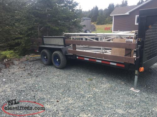 16ft Fifth Wheel Trailer