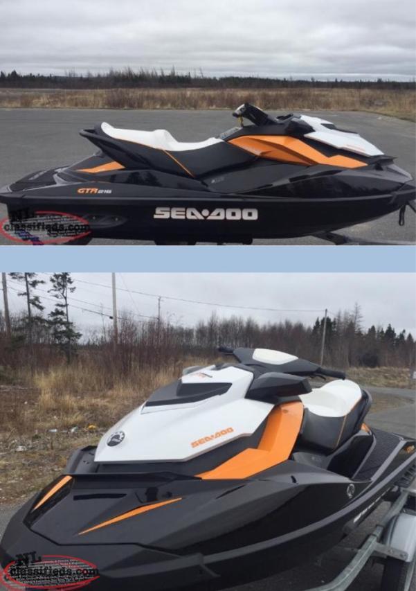 2013 Gtr 215 Supercharged Seadoo Gander Newfoundland