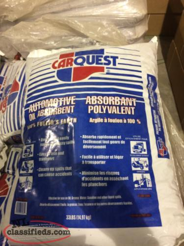 33 LB BAG OIL ABSORBENT SUPER SPECIAL...JUST $5.00 EA..WHILE SUPPLIES LAST