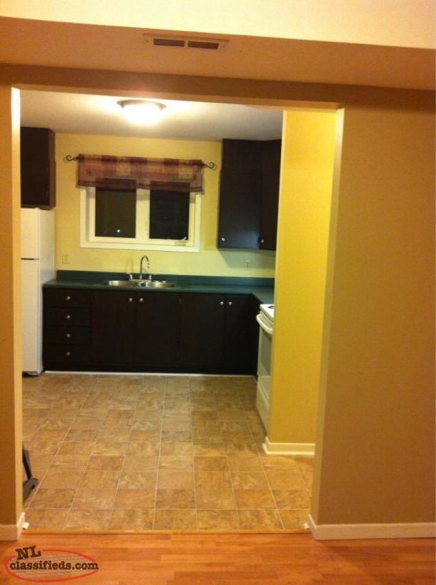 2 bedroom basement apartment for rent available august 1st st john 39 s newfoundland labrador. Black Bedroom Furniture Sets. Home Design Ideas