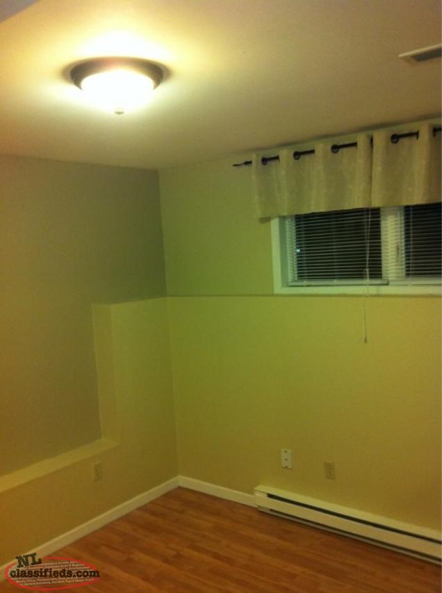 2 Bedroom Basement Apartment For Rent Available August 1st