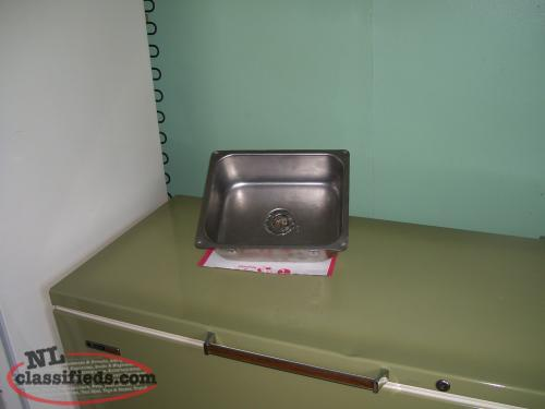 small stainless steel sink