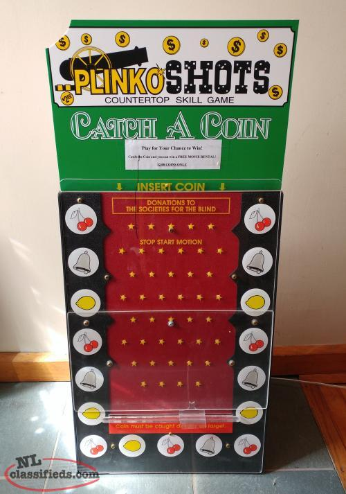 Plinko Style Game (Home or Business)