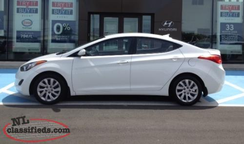 2013 Elantra GL with ** H-Promise **