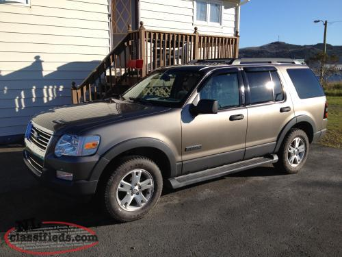 2006 ford explorer stoneville newfoundland labrador. Black Bedroom Furniture Sets. Home Design Ideas