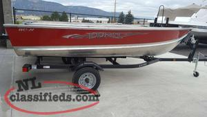 Clearance on all New LUND Aluminum Boats