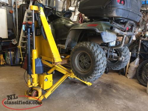 Pallet jack power lift