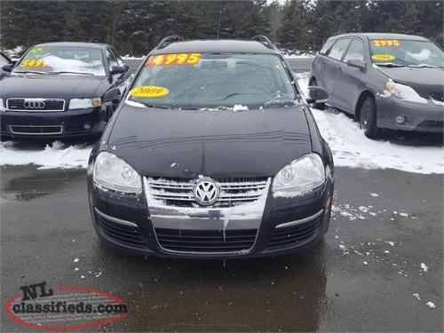 2009 Volkswagen Jetta Wagon 187 kms Manual