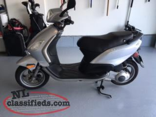 2009 Piaggo Fly 150 Scooter