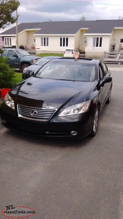 2008 lexus es 350 gander newfoundland labrador. Black Bedroom Furniture Sets. Home Design Ideas