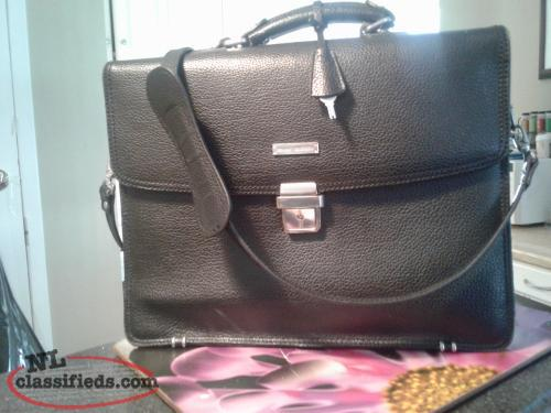 Brooks Brothers leather bag