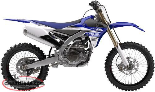 NEW 2017 Yamaha YZ450F Dirtbike SAVE $1000