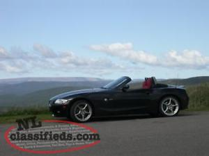 2005 BMW Z4 Roadster Convertible