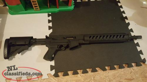 Heavy Barrel Ruger 10/22 with upgraded stock