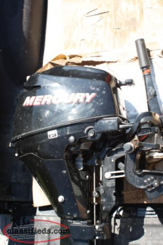 9.9 Mercury Four Stroke Motor