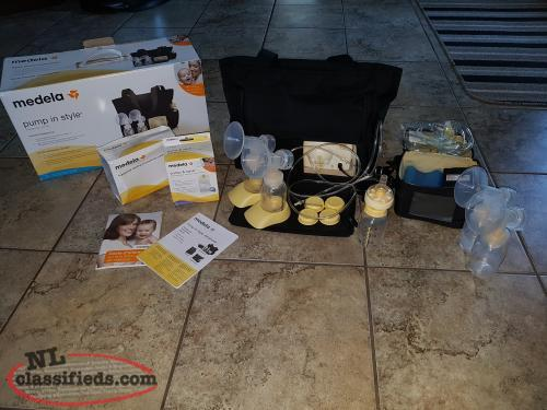 Medela double electric pump in style breastpump