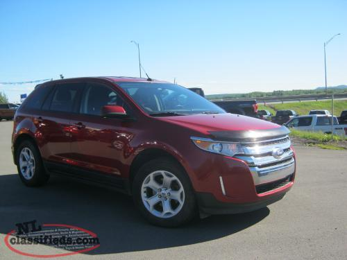 2013FORD EDGE SEL FWD