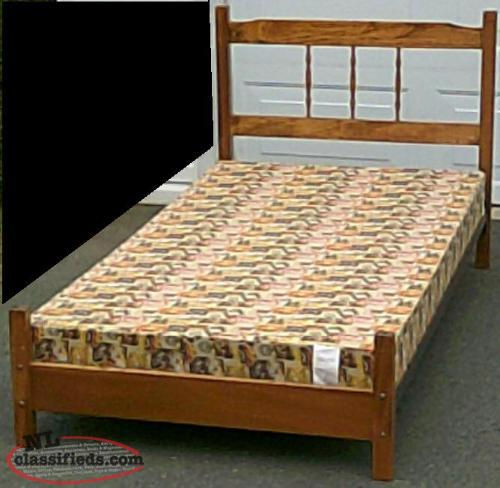 SINGLE BOX SPRING WITH FRAME