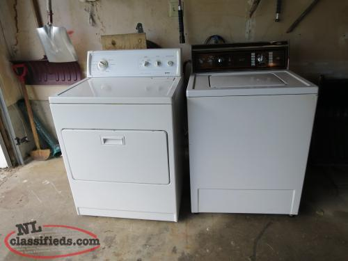 Washer and Dryer in good working condition ~ Clean