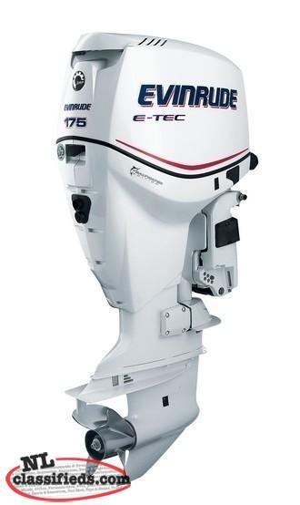 "INVENTORY ""BLOWOUT"" SALE ON EVINRUDE OUTBOARD ENGINES UNTIL AUG 21, 2017"