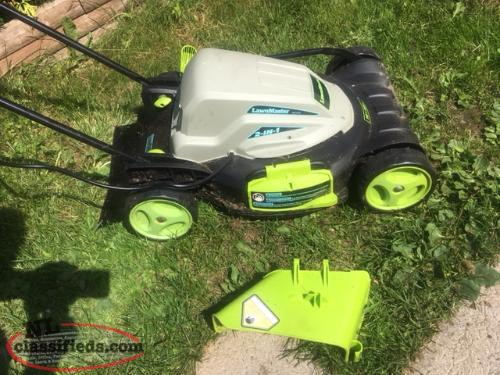 "18"" ELECTRIC LAWNMOWER"
