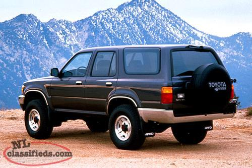 Wanted 1989-1995 Toyota 4 Runner Parts