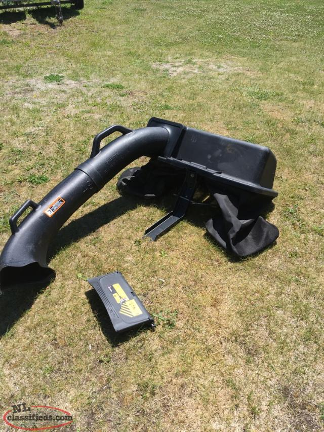 John Deere Rear Bag System
