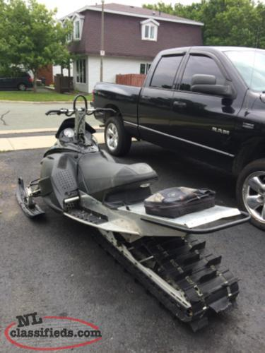 "2007 rev 800 151 with new 2 1/4"" paddle track"