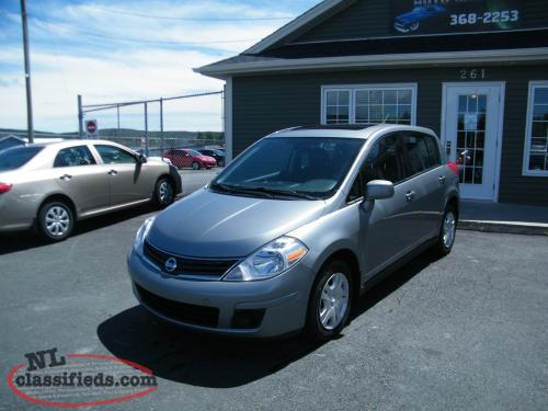 2012 Nissan Versa 75,000 km, LOADED AND INSPECTED