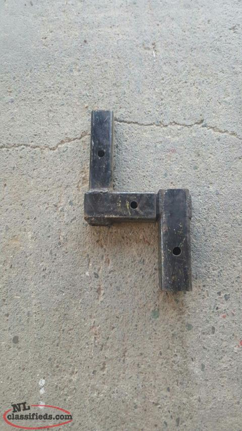 trailer hitch height adapter