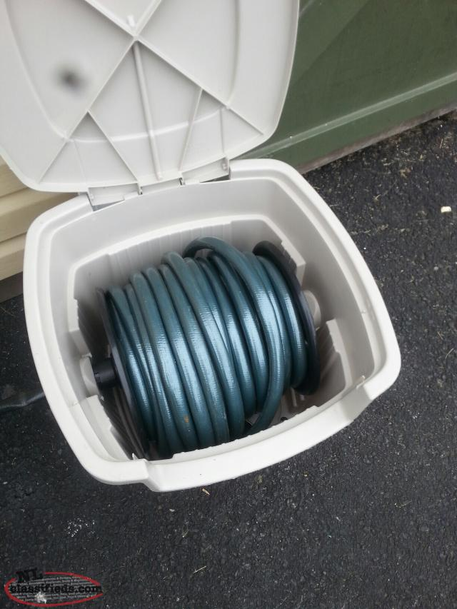 75 foot hose with hideaway box