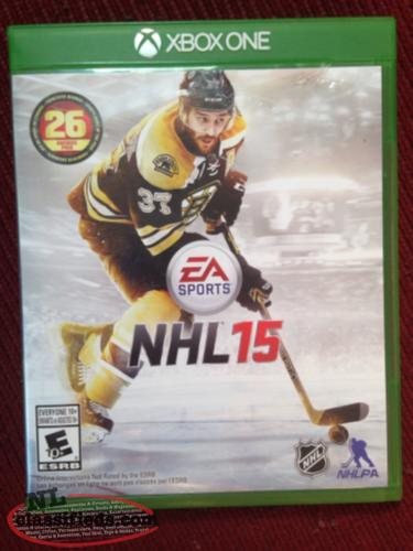 NHL 15 Xbox One Game
