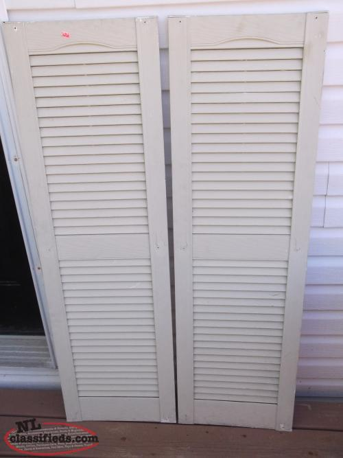Exterior Shutters for Sale